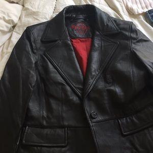 Hard Rock Cafe Leather Jacket